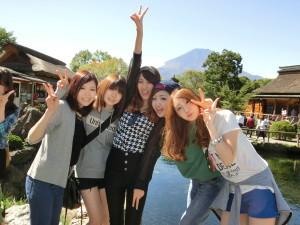 忍野八海 富士山