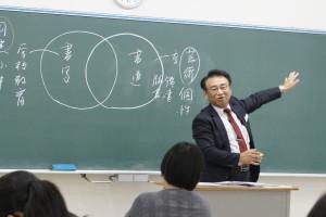 学校の授業内容などを説明