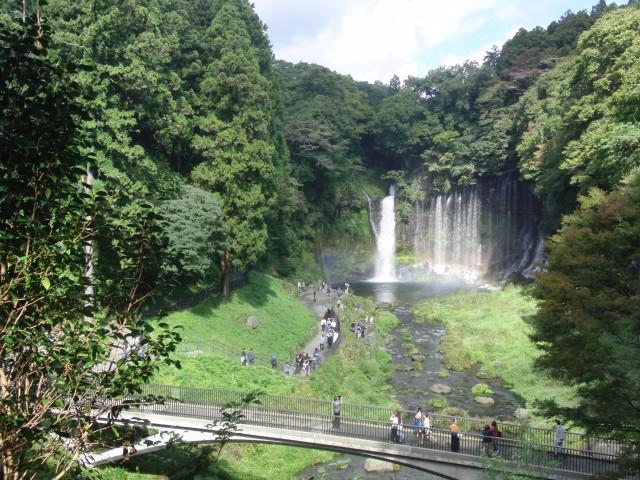 山梨県 白糸の滝